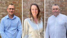 Profile photos of Matt Turner, Lisa Freeman, and Tony Briscoe